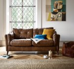 Alexander & James Saddler Right Hand Facing Chaise Sofa