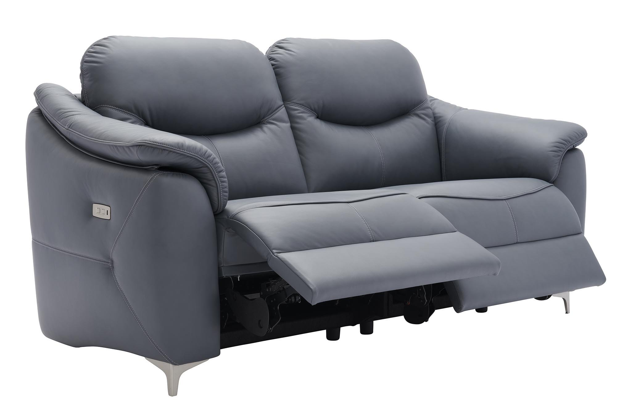 G Plan Jackson Three Seater Double Power Recliner Sofa