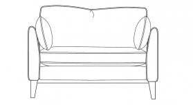 Content By Terence Conran Aster Loveseat