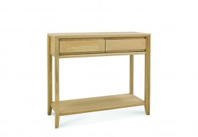 Bentley Designs Bergen Oak Console Table With Drawer [8101-19]