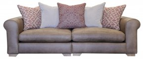 Alexander & James Pemberley Maxi Pillow Back Sofa (Fabric Pack - Option 1)