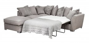 Buoyant Fantasia Pillow Back Corner Sofa Bed With Large Footstool (P, LFC, R2S )