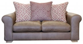 Alexander & James Pemberley Small Pillow Back Sofa (Fabric Pack - Option 1)