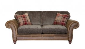 Alexander & James Hudson Two Seater Standard Back Sofa (Fabric Pack - Option 2)