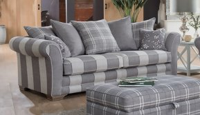 Alstons Franklin Grand Sofa (pillow back)
