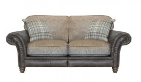Alexander & James Hudson Two Seater Standard Back Sofa (Fabric Pack - Option 5)