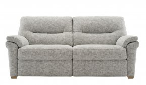 G Plan Seattle Two Seater Sofa with Show Wood Feet