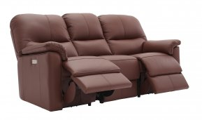 G Plan Chadwick Three Seater Double Power Recliner Sofa