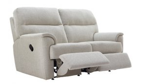G Plan Watson Two Seater Double Manual Recliner Sofa