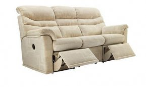 G Plan Malvern Three Seater Double Power Recliner Sofa (Both Sides Recline)