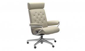 Stressless Metro Office Chair With Adjustable Headrest