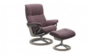 Stressless Mayfair Large Recliner Chair & Footstool (Signature Base)