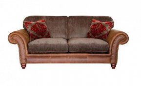 Alexander & James Hudson Two Seater Standard Back Sofa  (Fabric Pack - Option 1)