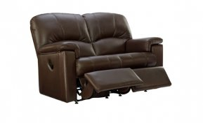 G Plan Chloe Two Seater Double Manual Recliner Sofa (Both Sides Recline)