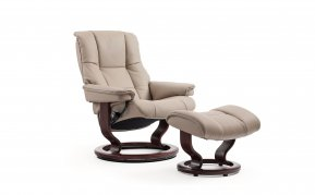 Stressless Mayfair Small Recliner Chair & Footstool (Classic Base)