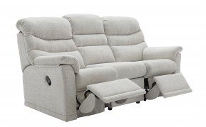 G Plan Malvern Three Seater Double Manual Recliner Sofa (Both Sides Recline)