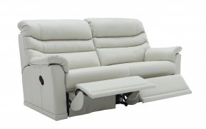 G Plan Malvern Three Seater Two Cushion Double Manual Recliner Sofa