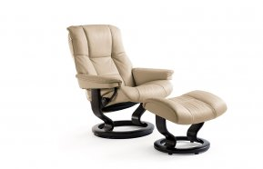 Stressless Mayfair Large Recliner Chair & Footstool (Classic Base)