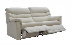 G Plan Malvern Three Seater Two Cushion Double Power Recliner Sofa