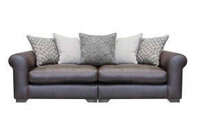 Alexander & James Pemberley Maxi Pillow Back Sofa (Fabric Pack - Option 2)