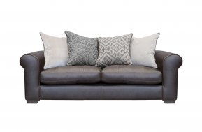Alexander & James Pemberley Midi Pillow Back Sofa (Fabric Pack - Option 2)