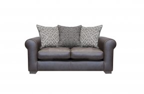 Alexander & James Pemberley Small Pillow Back Sofa (Fabric Pack - Option 2)