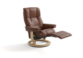Stressless Mayfair Large Power Single Motor Recliner Chair (Legs Only)