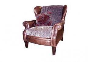 Alexander & James Hudson Wing Chair  (Fabric Pack - Option 1)