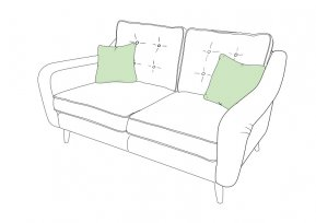 Whitemeadow Faro Small Sofa