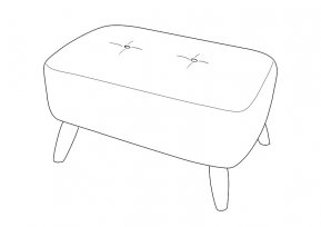Whitemeadow Faro Small Bench Stool