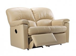 G Plan Chloe Two Seater LHF Manual Recliner Sofa (left hand facing half of sofa reclines only)