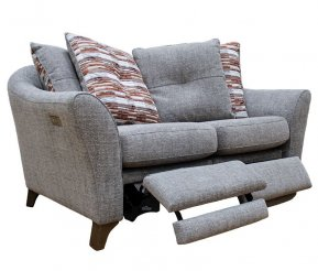 G Plan Hatton Two Seater Double Power Footrest Pillow Back Sofa