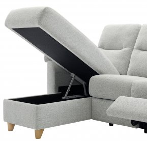 G Plan Spencer LHF Storage Chaise Unit