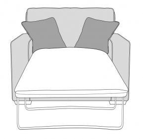 Buoyant Chicago Chair Sofabed (Deluxe Mattress)