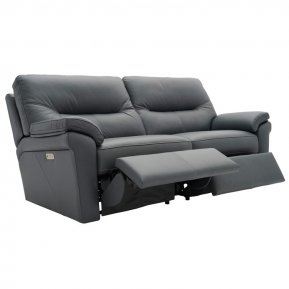 G Plan Seattle Three Seater Double Manual Recliner Sofa