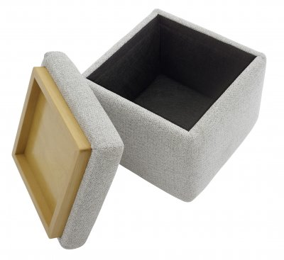G Plan Spencer Storage Footstool (With Tray)