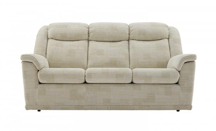 G Plan Milton Three Seater Double Manual Recliner Sofa